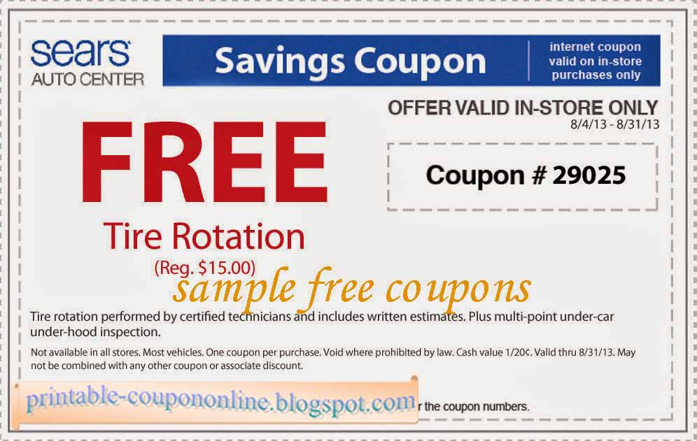 picture about Home Goods Coupon Printable referred to as Sears coupon printable dec 2018 - Regular harley rider specials hole