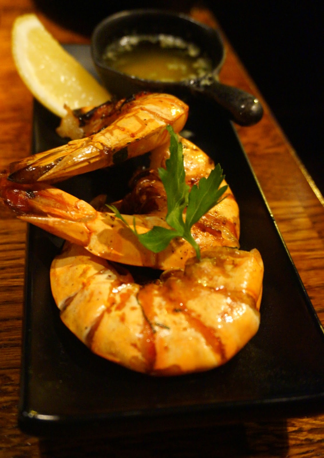 prawns with shells on