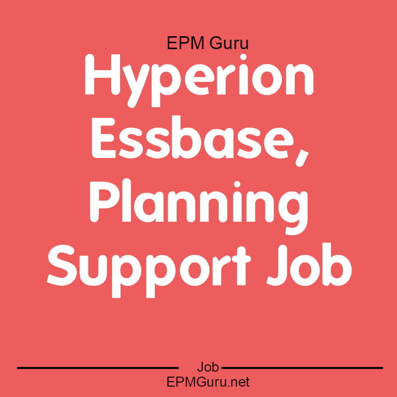 Epm Guru Global Network For Epm 2016