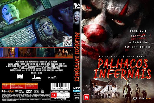 Capa DVD Palhaços Infernais [Custom]