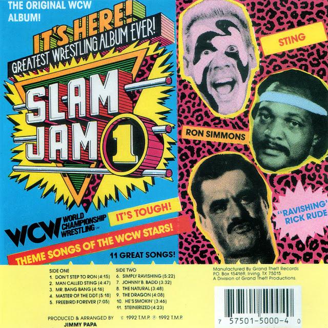 WCW - Slam Jam Vol. 1 - Album Review - Album cover