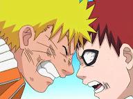 Naruto Uzumaki vs Gaara del Desierto