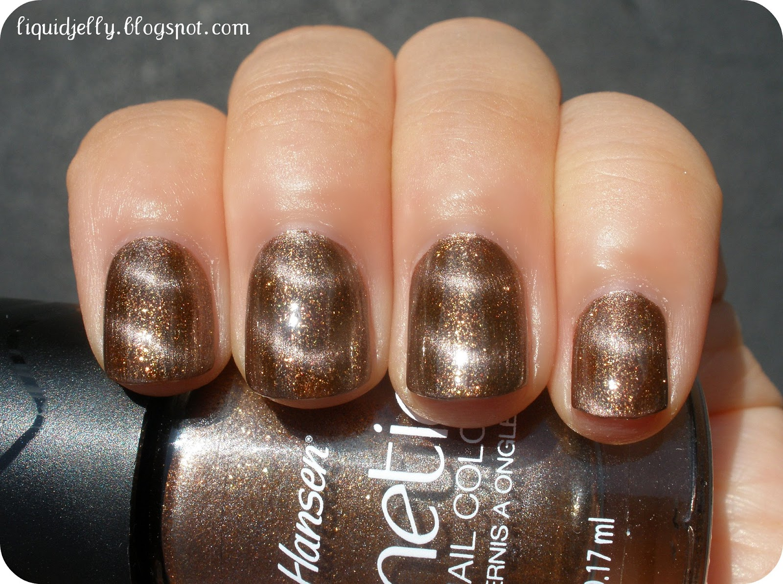 Liquid Jelly: Sally Hansen Magnetic Nail Color Swatches