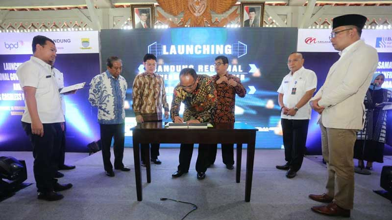 Regional Data Center dan Cashless Payment Lengkapi Bandung sebagai Smart City