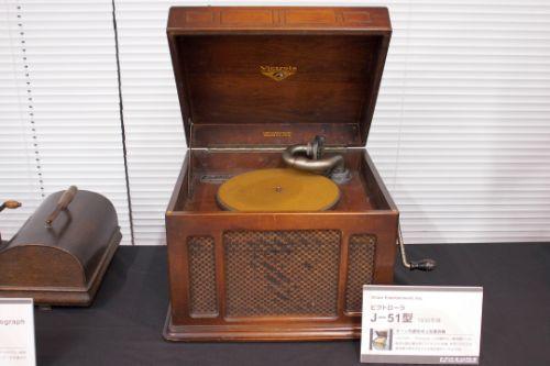 VICTOR phonograph J-51 ( 1930)