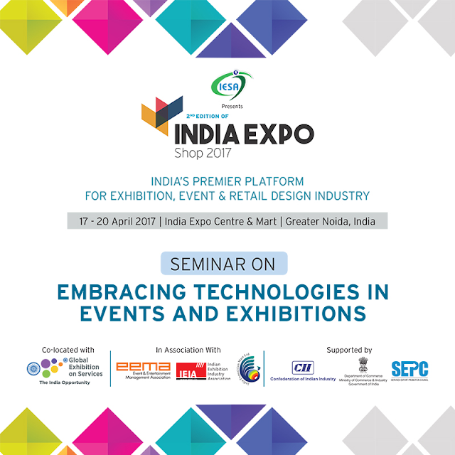 Indian Exhibitions, Conferences & Events Services Association (IESA) hoted its 2nd India Expo Shop 2017 at Greater Noida