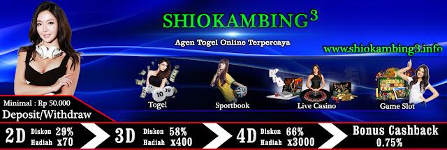 AGEN TOGEL SHIOKAMBING3 TERAMAN & TERPERCAYA SK343
