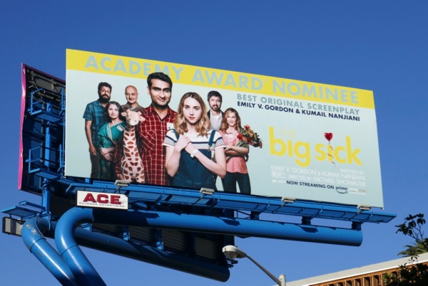 Big Sick Academy Award nomination billboard