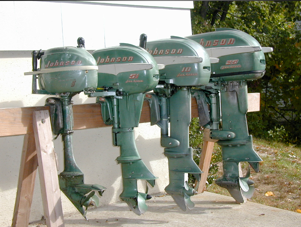 Boat Motors For Sale Vintage Johnson Boat Motors For Sale