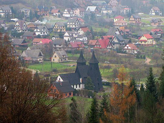 Kościół parafialny Matki Bożej Częstochowskiej.