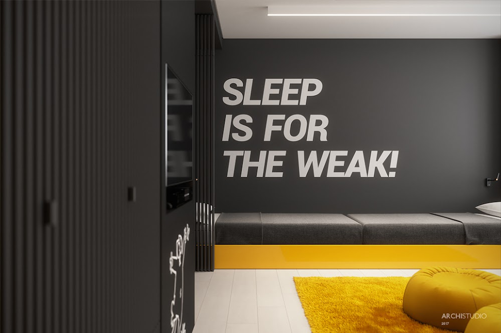 black-and-yellow-room