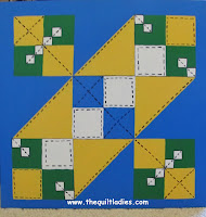 Barn Quilt for Our Fence, How we did it