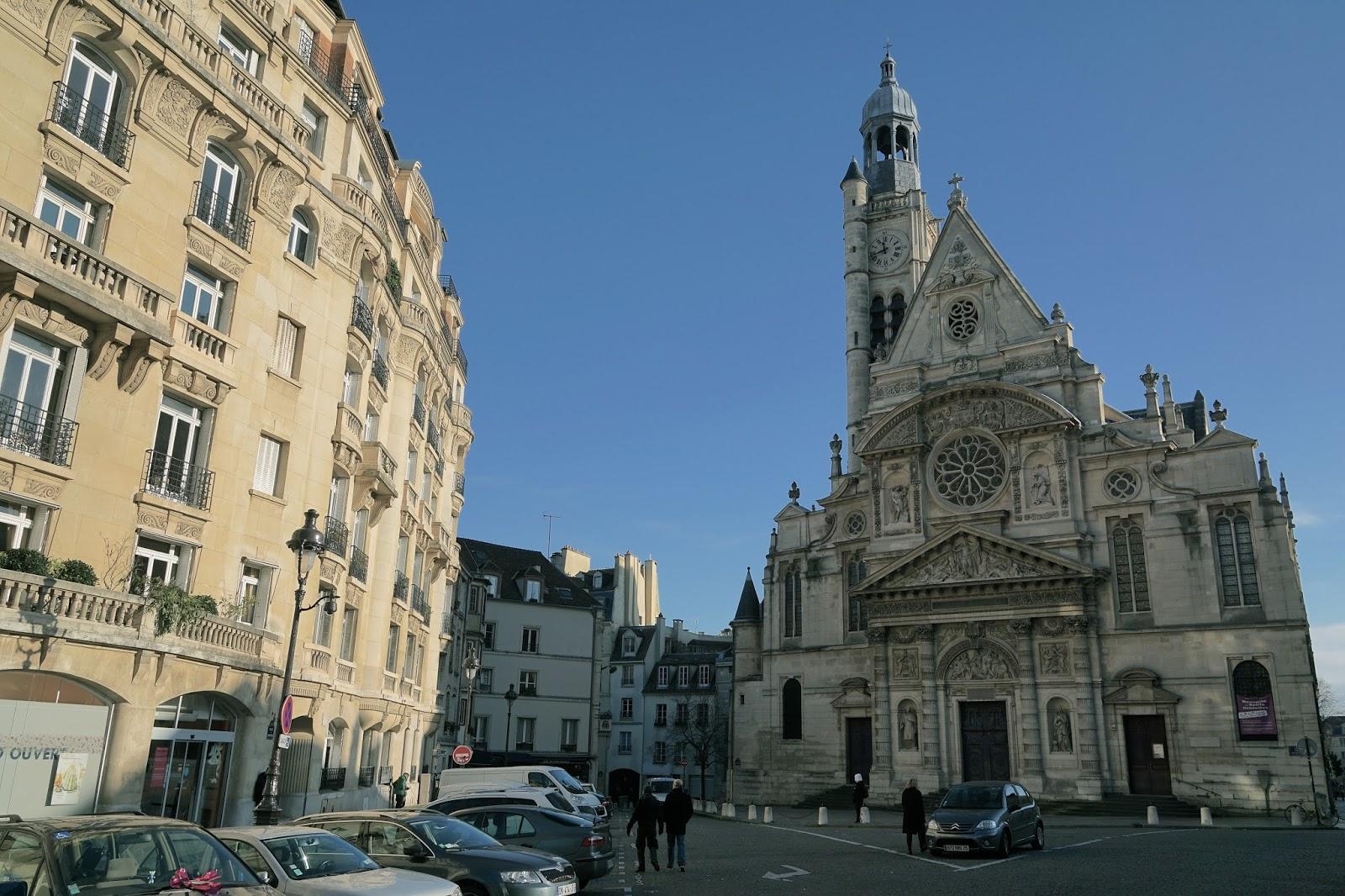 サン・テティエンヌ・デュ・モン教会(Eglise Saint Etienne du Mont)