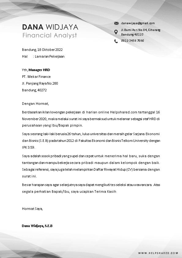 Kop Surat Lamaran Kerja 6