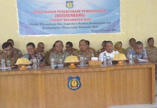 Pebruari 2018, Pemerintah Giat, Laksanakan Musrenbang Tingkat Kecamatan