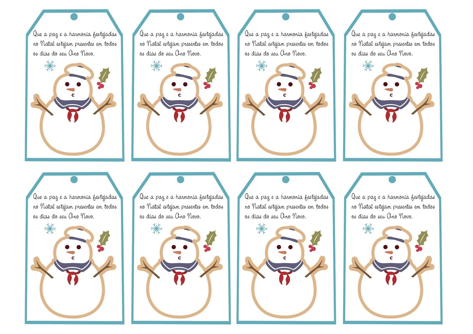 Cartoes De Natal Com Mensagens Natalinas Para Imprimir