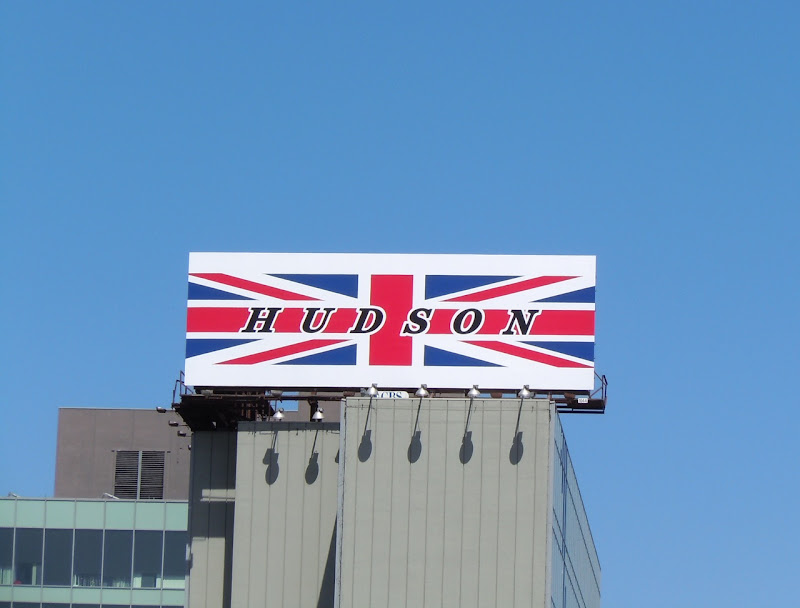 Hudson Union Jack billboard