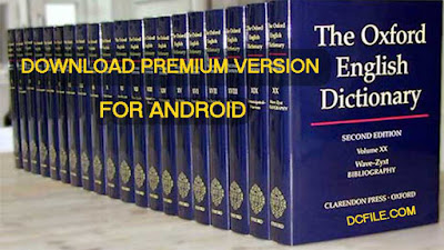 Oxford Dictionary of English Premium Apk download - For Android on DcFile.com
