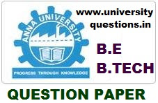 ANNA UNIVERSITY NOV/DEC 2015 - GE6152 ENGINEERING GRAPHICS QUESTION PAPER