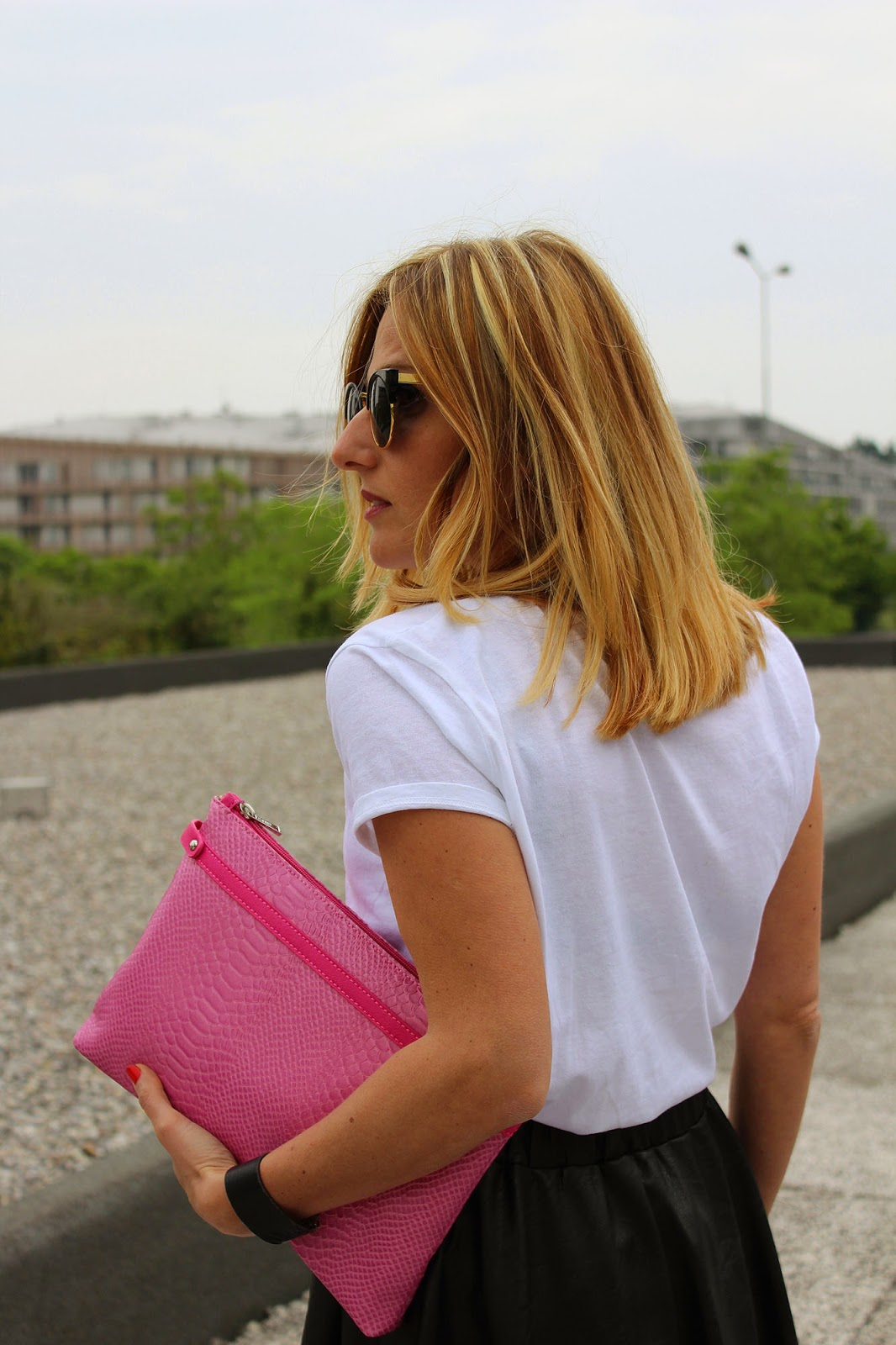 Eniwhere Fashion - pink Caleidos bag