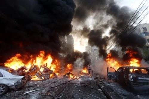 ALAGBON POWER STATION GUTTED BY FIRE