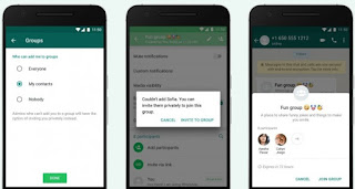 Whatsapp new update , how to create the group