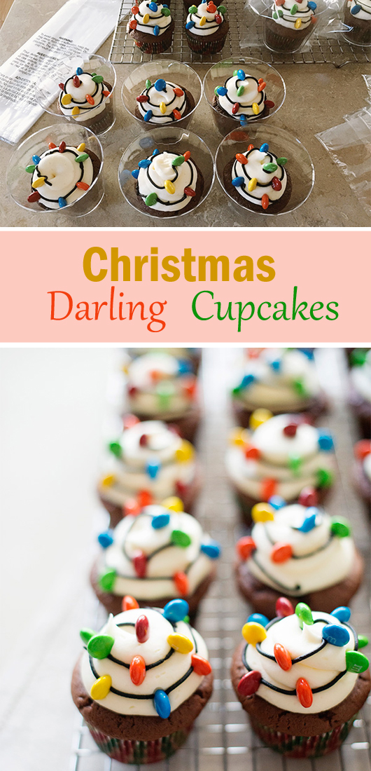 Christmas Darling Cupcakes