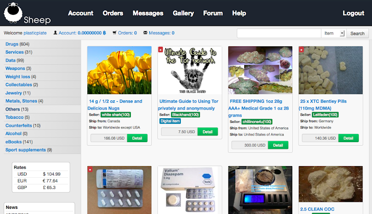 Silk Road alternative 'Sheep Marketplace' shut down after $40 Million in Bitcoin Theft