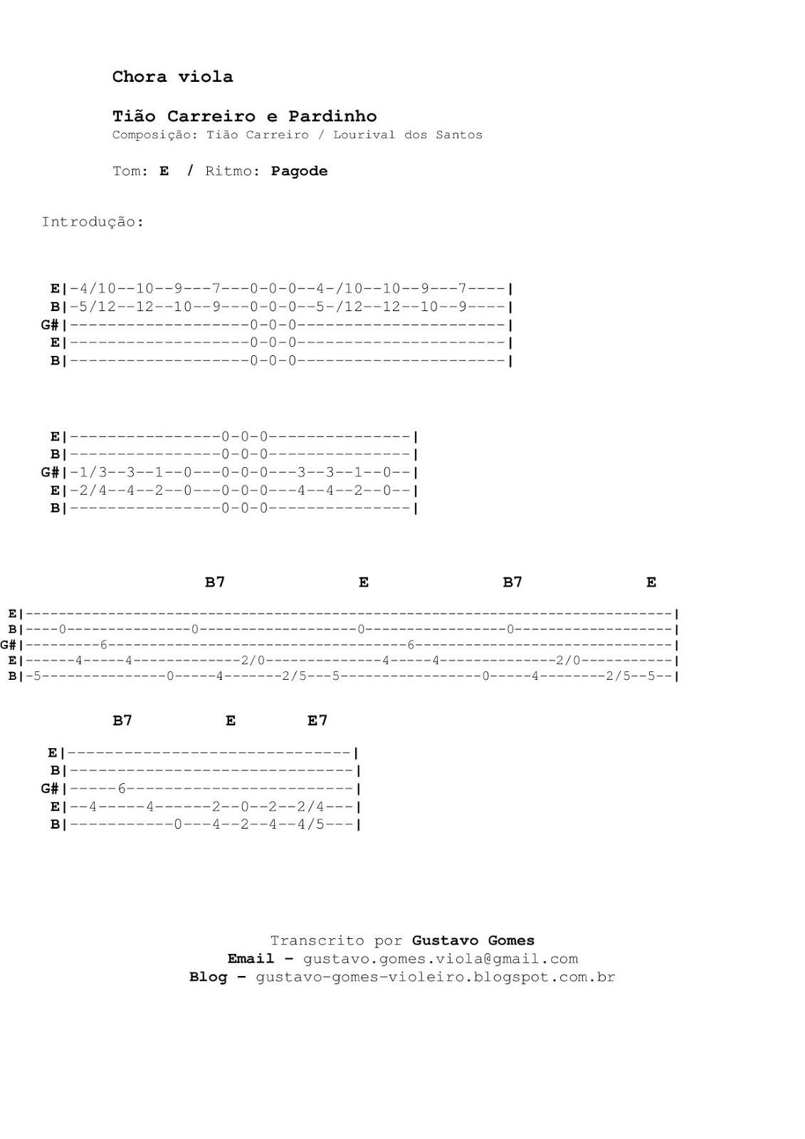 Gustavo Gomes Viola  Chora Viola 7f9bb40b36f
