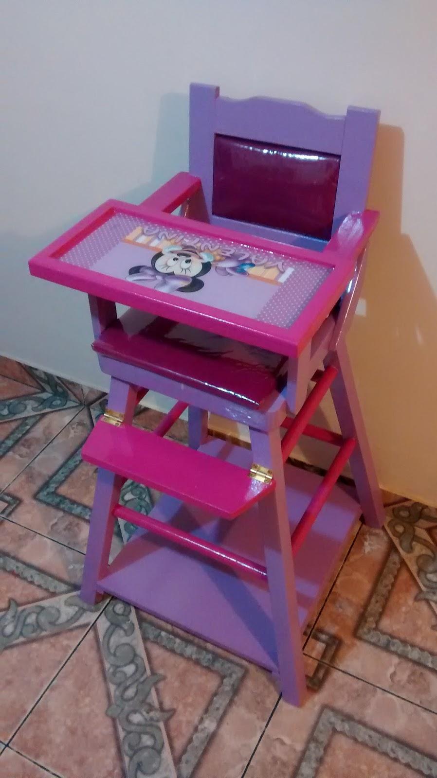 Galeria arte y dise o madekids silla comedor para bebe for Comedor para bebe