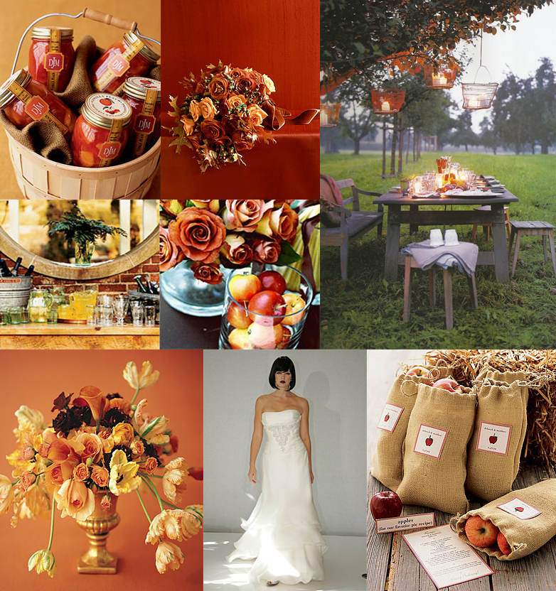 Autumn Wedding Decorations Ideas