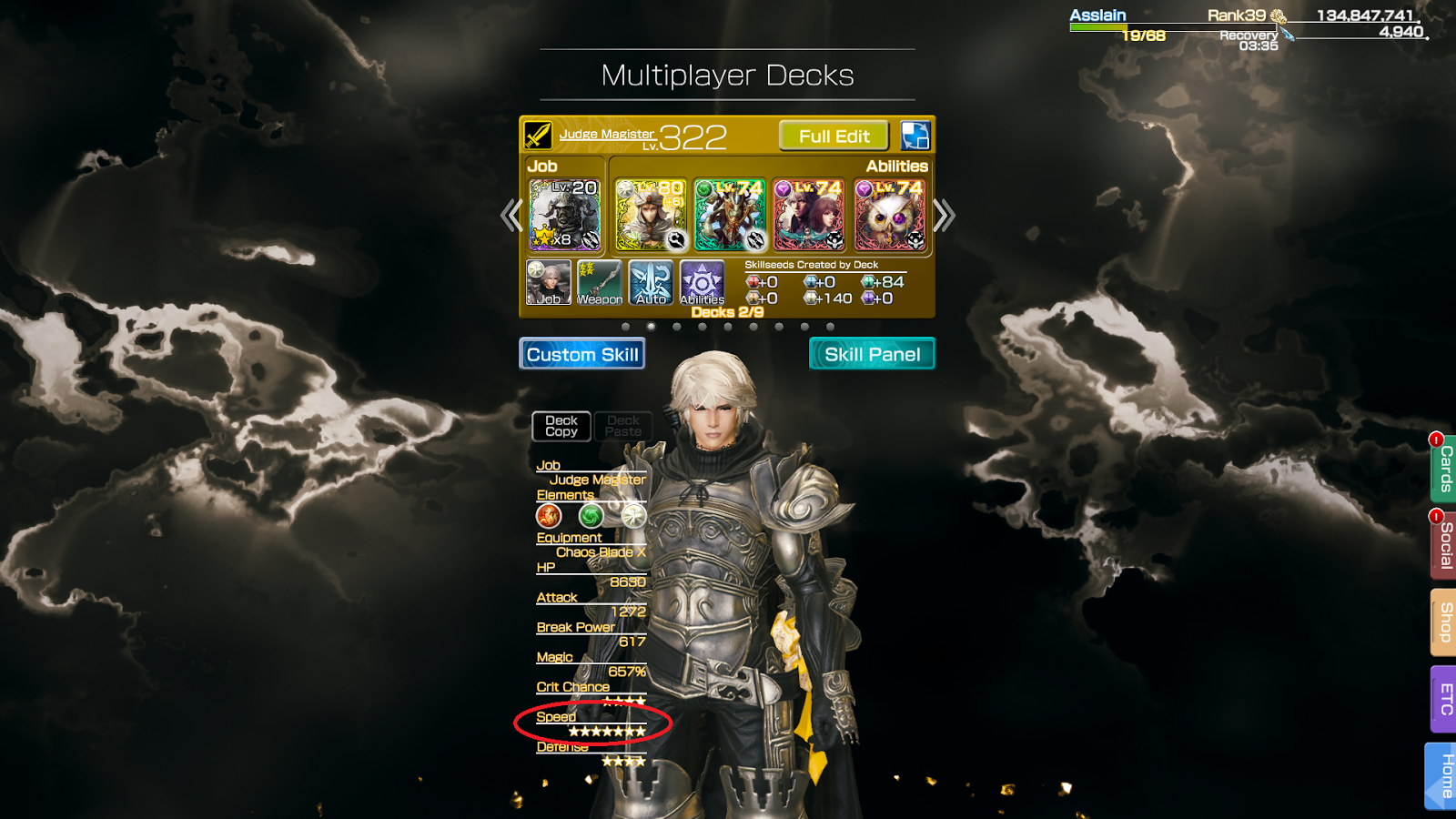 how to get more action move in multiplayer mobius final fantasy