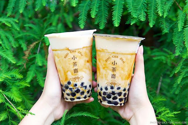 MG 4835 - 小茶齋在東海與美村南路都開分店囉!還有新品厚漿珍珠奶茶好濃郁!