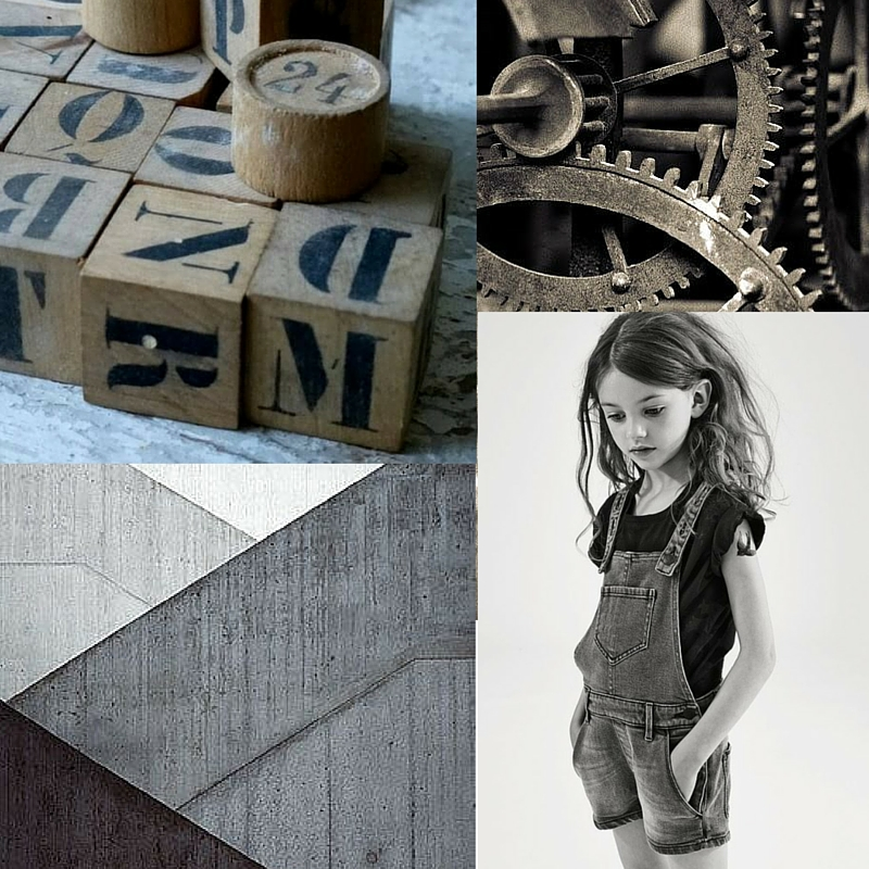 Mood Board - Industrial