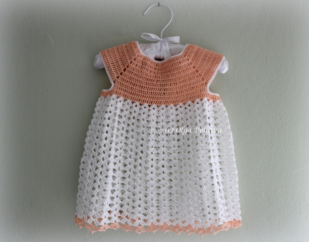 d3311bf4d Lacy Crochet  Lacy Baby Dress