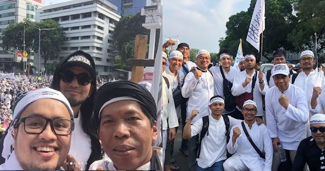 Aksi Para Seleb saat Ikuti Reuni Akbar 212, Ada yang sampai Orasi