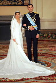 Príncipe Felipe y Doña Letizia