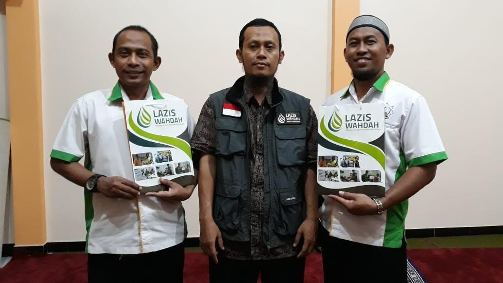 Direktur PT.Herbal Insani Terima Kunjungan LAZIS Wahdah