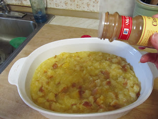 Ready to be cooked Pineapple Stuffing