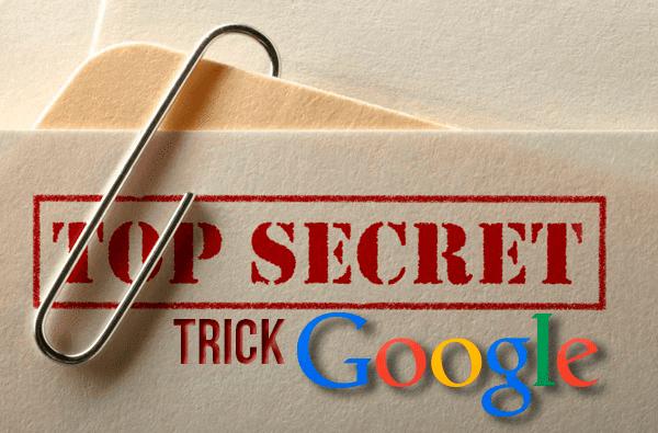 Trik dan fitur rahasia google yang tersembunyi