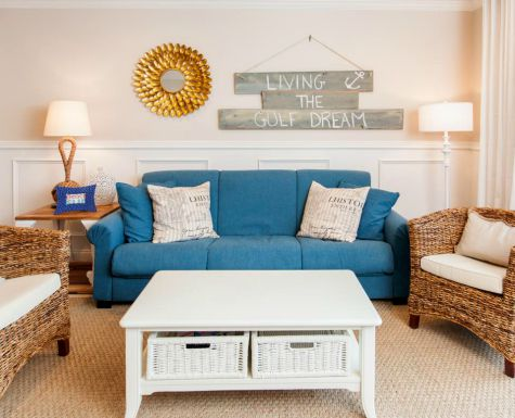 Traditional Beach Flip Living Room