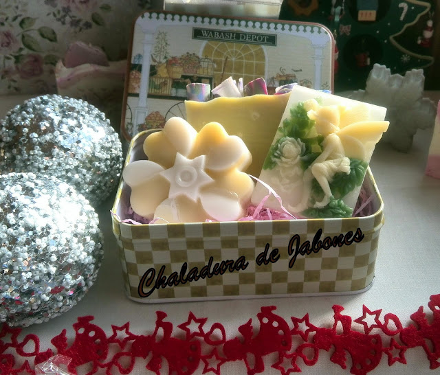 Estuches de Jabones para Navidad