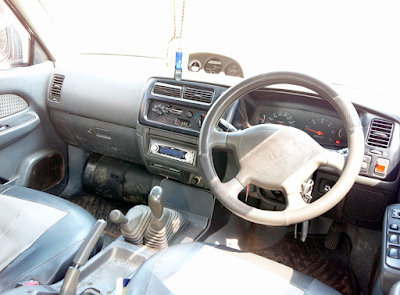 Interior Mitsubishi Strada L200