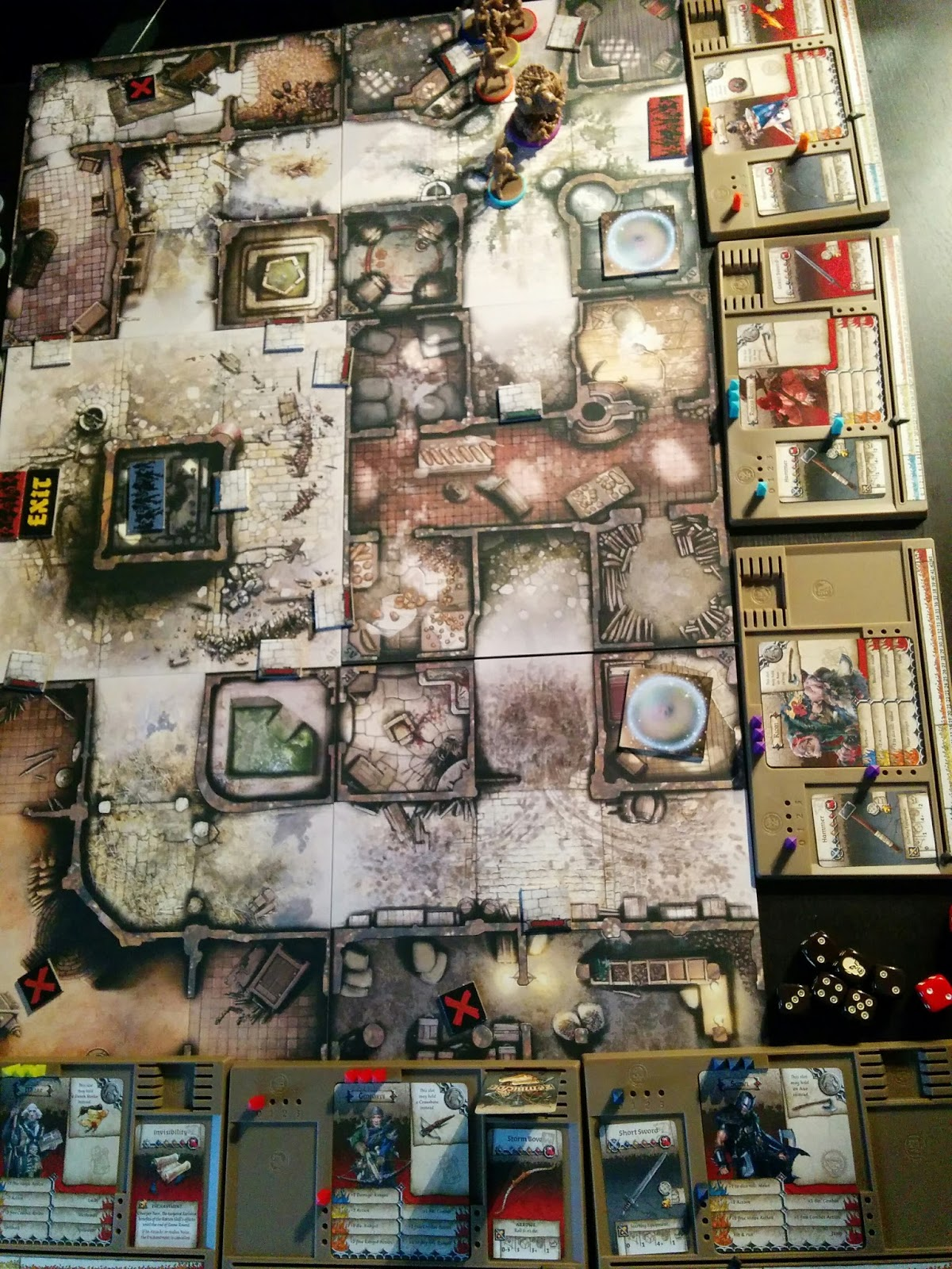Jeux en pagaille zombicide bp campagne sc nario 2 for Porte zombicide