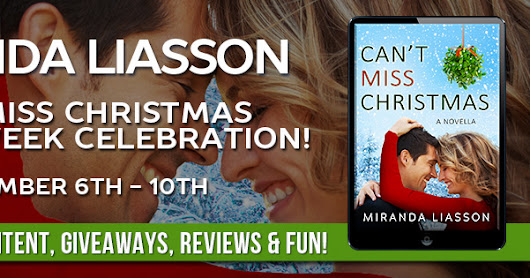 Review & Blitz: Can't Miss Christmas by Miranda Liasson