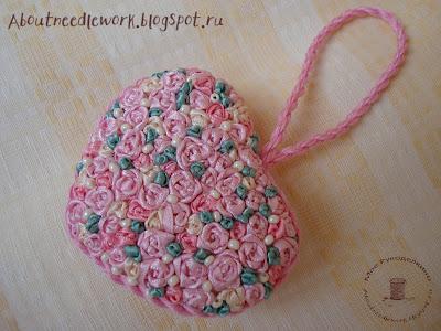 Сердечко-валентинка