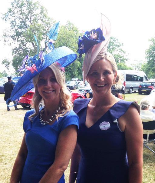 Royal Ascot & Epsom Derby 2016: Joanne Edwards Millinery on display!