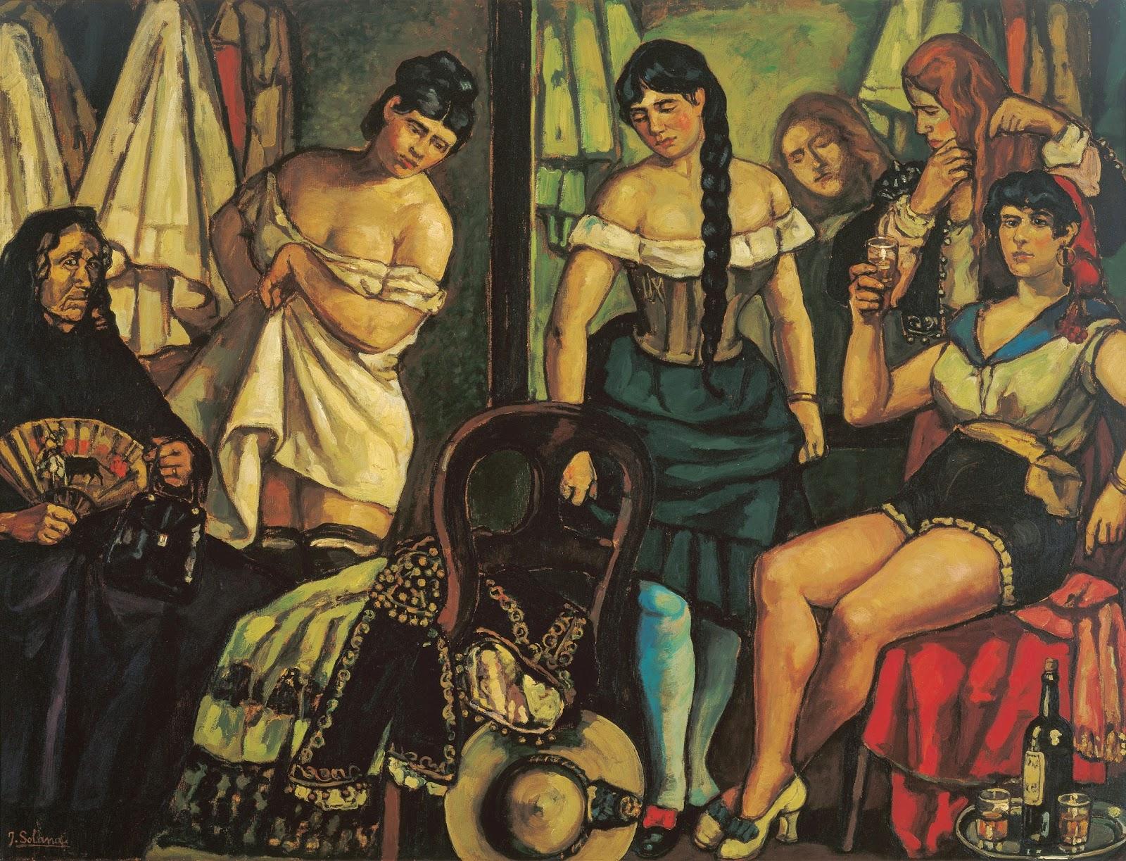 prostitutas malaga centro pinturas prostitutas