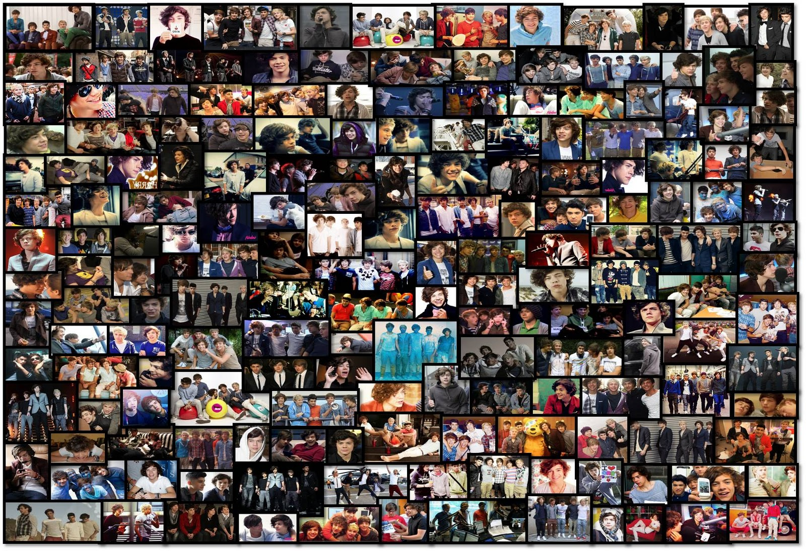 One Direction movie - This Is Us Official wallpapers ... |One Direction Collage Wallpaper