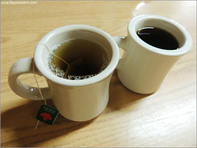 Bebidas: Té de Sirope de Arce y Café